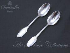 Christofle MARIE ANTOINETTE 2 Tea Spoons, Cuillères à Thé 15cm