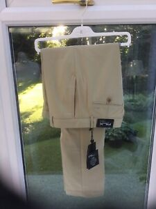 RALPH LAUREN RLX Golf Trousers BNWT RRP£110 Size 32 Beige