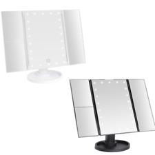 Kosmetikspiegel LED Schminkspiegel Tisch- Schminkspiegel 2X und 3X Vergrößerung