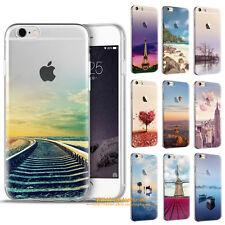 motivo Custodia per cellulare iPhone SE 5 6 7 Plus Cover Protezione silicone TPU