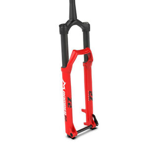 Marzocchi Bomber Z2 120 29 Inch Rail 15QR110 Tapered Fork Gloss Red - 44 MM