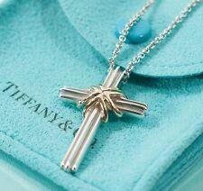 79a29e2e0287a Tiffany Cross Necklace for sale   eBay