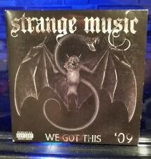Strange Music - We Got This Sampler CD Tech n9ne Prozak insane clown posse mne