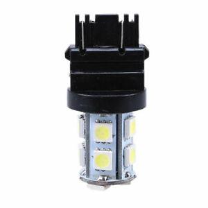 White T25/3157 5050 13 SMD LED Car Tail Brake Backup Signal Turn Light Bulbs