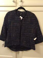 Louben Woman's Blazer/ Jacket Multi / Color Weave Size 4