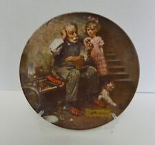 The Cobbler Second Plate Rockwell Heritage Collection Knowles No Coa or Box 1978
