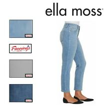 SALE! Women's Ella Moss High Rise Slim Ankle Jean | VARIETY Size & Color | E31
