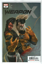 Weapon X Issue #27 Marvel Comics (1st Print 2018) Comic Book