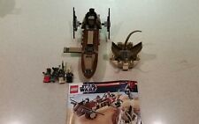 LEGO Star Wars Desert Skiff 2012 (9496) - Used - 100% Complete w/ Manuals
