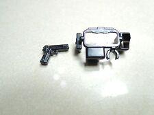 (Tactical Belt  and NIGHT HAWK X1)  custom swat  gun tactical belt for lego