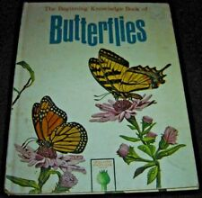 The Beginning Knowledge Book Of Butterflies 1965 Hardcover