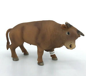 Schleich Rodeo Bull Brown Cow Male NEW with Tag Model 13816 Toy Figure Retired