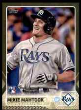 2015 Topps Update Gold Foil Mikie Mahtook RC #/2015 #US299