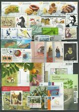 Slovenia 2010/2014 ☀ Lot of Slovenia MSS & stamps ☀ CTO/Canceled - Unused