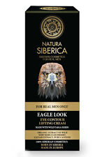 NATURA SIBERICA Eagle Look Eye Contour Lifting Cream for Men Only ANTI AGE 30 ml