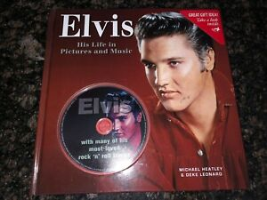 ELVIS - HIS LIFE IN PICTURES AND MUSIC - BOOK & CD COMBO - NEW