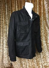 Pepe Jeans Mens Buffalo Leather Jacket  Medium