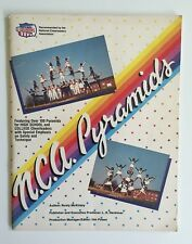 N.C.A. Pyramids for Cheerleading Instructional Book by Rusty McKinley 1984