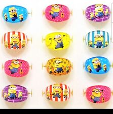 10 x Minions Rings / Despicable Me 3 rings Birthday Party Bag Fillers, Minions 2