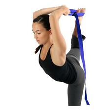 New Yoga And Pilate Cotton Stretch Strap 240cm(L) x 38mm (W) Resistance Band