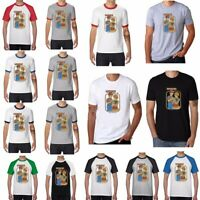 Rainy Day Fun Men's Funny Ringer T-shirts Cotton Short Sleeve summer Tops Tee