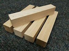 "5 pieces Butternut Lumber Wood Turning Lathe Carving Blocks  2"" x 2"" x 12"""