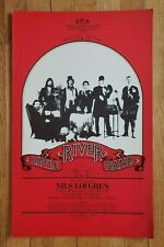 Original (1977) LITTLE RIVER BAND Paramount NW Seattle Cardboard Concert POSTER