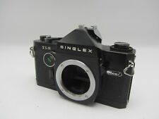 Ricoh Singlex TLS 35mm SLR Film Camera Body - Black - Tested Works