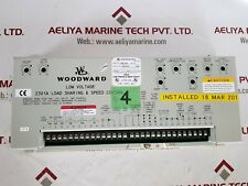 Woodward 9907-019 low voltage 2301a load sharing & speed control