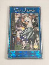 Troy Aikman 1994 Upper Deck Gold Foil Card Dallas Cowboys in Plastic Case