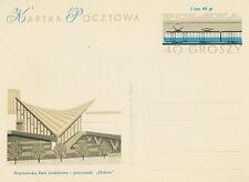 Poland Prepaid Postcard (Cp 236 IV) - railway station