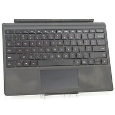 Genuine Microsoft Surface Pro 3 & 4 Detachable Type Cover Keyboard 1725 - BLACK