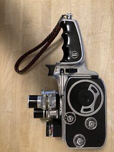 Camera vintage 8 mm Bolex Paillard 3 optiques