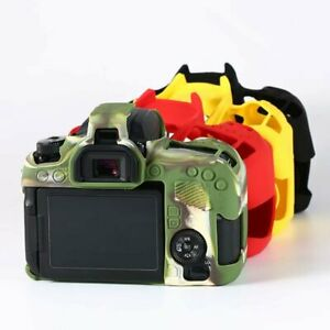 Silicone Rubber Camera Protective Case For Canon 5D Mark III 5D3 5D4 6D 6D2 77D