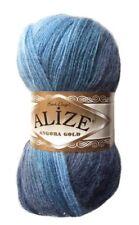 Alize Angora Gold  100grm Ball Shade 1899 Blue Mix