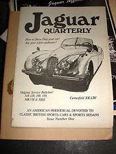 Jaguar Quarterly (2)  Issue #1 & Volume 1  Issue #2 1977