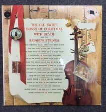 Frank Devol and The Rainbow Strings Old Sweet Songs of Christmas LP Vinyl 1960