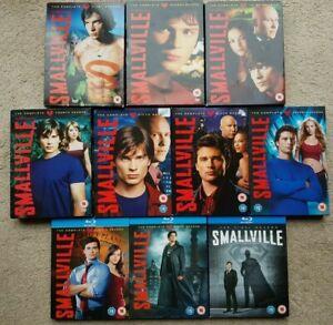 SMALLVILLE, SEASONS 1 TO 10 BOXSETS COMPLETE (DVD/BLU-RAY)