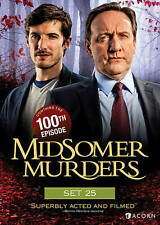 Midsomer Murders, Set 25 New DVD! FREE SHIPPING