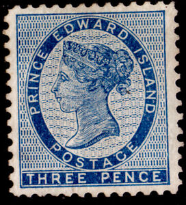 Prince Edward Island PEI #6 3d Queen Victoria (1862-65), USED