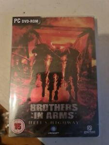 Brothers In Arms Hell's Highway Steelbook game complete Limited Edition sealed