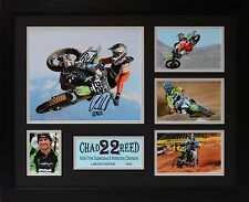 Chad Reed supercross & motocross Limited Edition Framed Signed Memorabilia