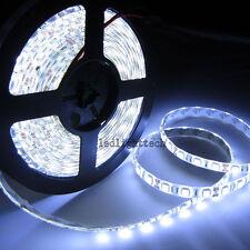 10pcs 24V 5M 5050 SMD 300 leds Cool White Flex LED Strip Light Waterproof IP65