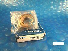 KOYO 608 ZZ CM, 2Z,Single Row Radial Bearing(Timken 38, SKF, NTN, FAG 2ZR,NSK)