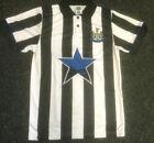 Newcastle United 1993 style Retro Shirt Jersey Soccer Football New Slight Second