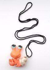 Mermaid Crab Toy Renewal 3D Kitch DIY EMO Necklace Pastel Goth Kawaii Harajuku