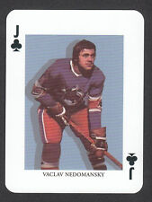 Vaclav Nedomansky WHA Scarce Hockey Playing Card from Sweden