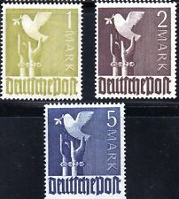 1947 Dove of peace 3 values mint (nhm 2mk) (other hinged mint)