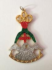 Franc-maçonnerie Bijou franc-maçon du 18° dg - Masonic jewel