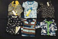 Baby Toddler Boys One Piece Footie Sleeper Pajamas 3-6  6-12  12-18  18-24 mo